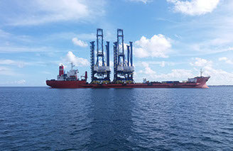 shipping agent at Port Louis